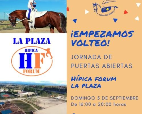 Volteo en Villanueva de la Cañada de la mano de HIPICA LA PLAZA y VOLTEO STAR MADRID